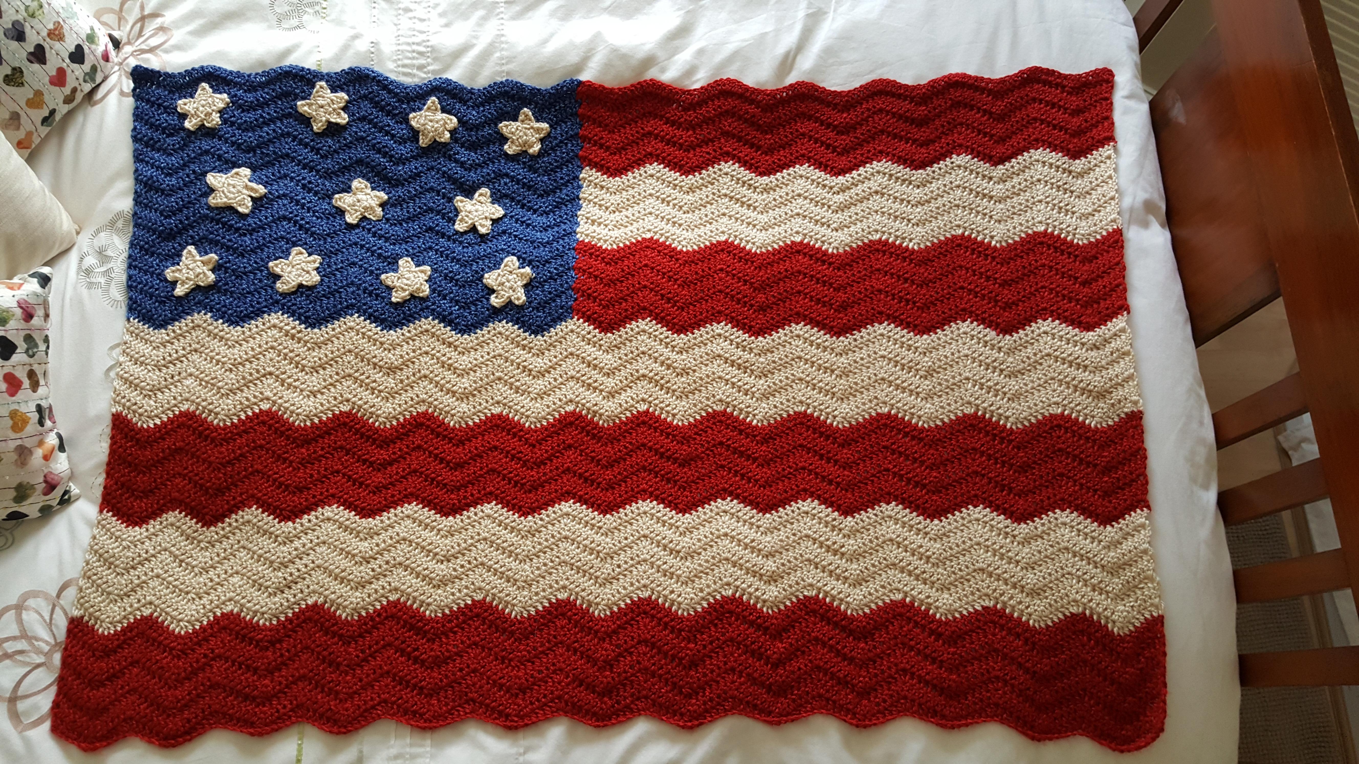 Scrappy Baby Blanket Progress & New Baby Blanket Project | Fizzy ...