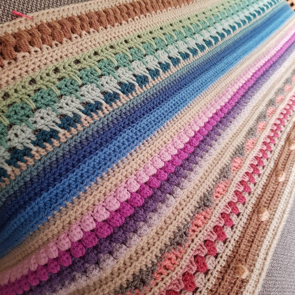 Image of Rainbow Sampler Blanket